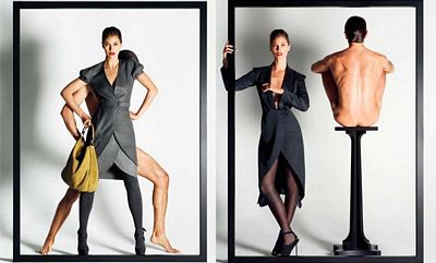 Christie Turlington, modelo de YSL