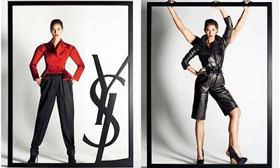 Christie Turlington, campaña Yves Saint Laurent 2009