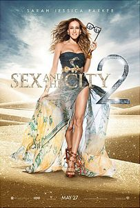 Poster oficial de la segunda parte de Sex and the City