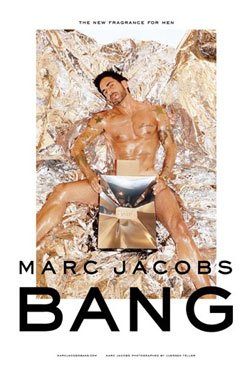 Marc Jacobs y su fragancia Bang