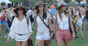 Los looks de las celebrities en Coachella